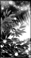 「モノクロの世界」01「植物」