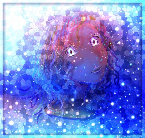 「人物画」05「アイスクリスタル」Ice Crystal