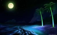 「南の小島と夏の海」「夜の帳が下りて」(カラー)無断転載無断使用禁止。まとめサイト利用禁止。作品は知的財産権を有します。権利侵害を見掛けましたら通報願います。