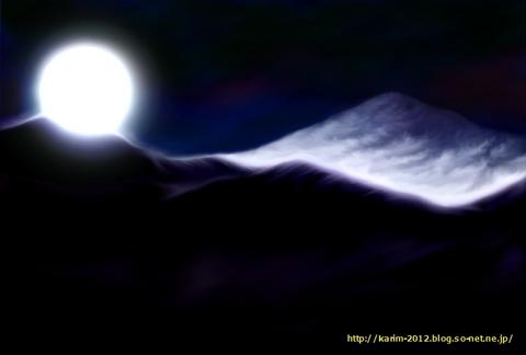 「月景色」