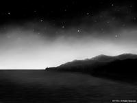 「海のある風景」02「夜の帳が下りて」