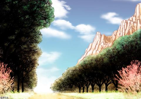 「風景画2014」01「山のある風景」01(TYPE-1)