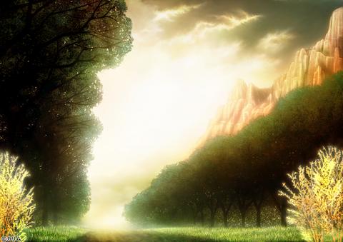 「風景画2014」03「山のある風景」03(Art)