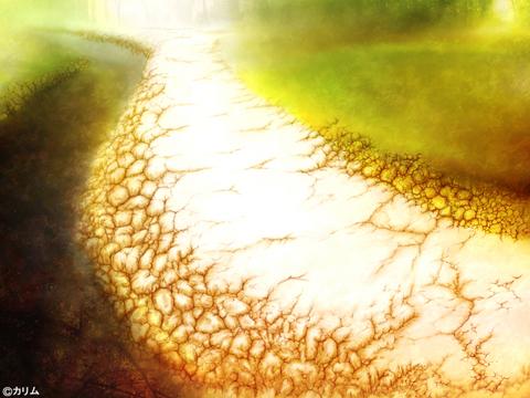 「風景画2014」07「川辺の小道 」制作02「影&ハイライト」.jpg
