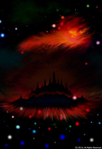 「FANTASY WORLD」07「古城を覆う赤い衝撃」