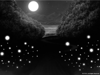「WONDER WORLD」03「オーブ達の集まり」02(モノクロ)